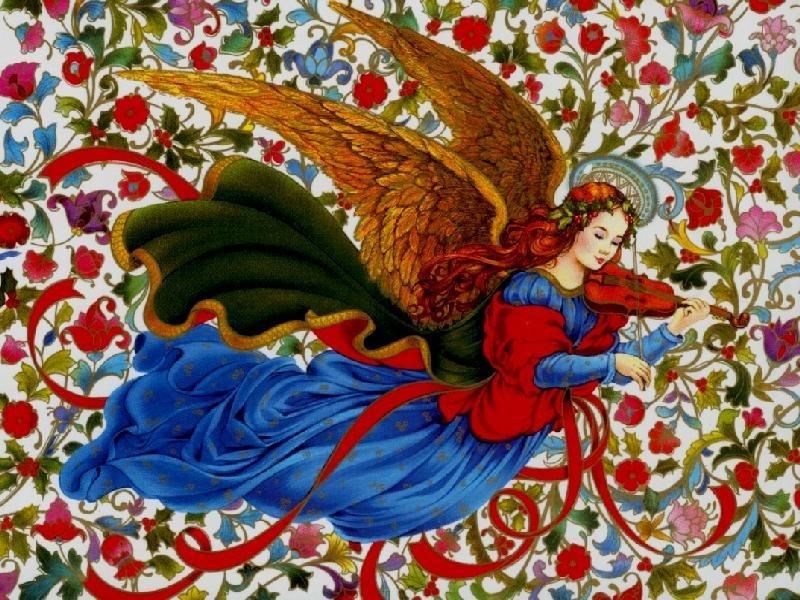 День ангела открытка нарисовать